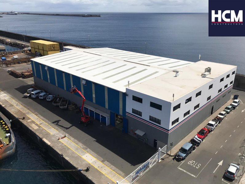 HCM Construccion Nave Industrial