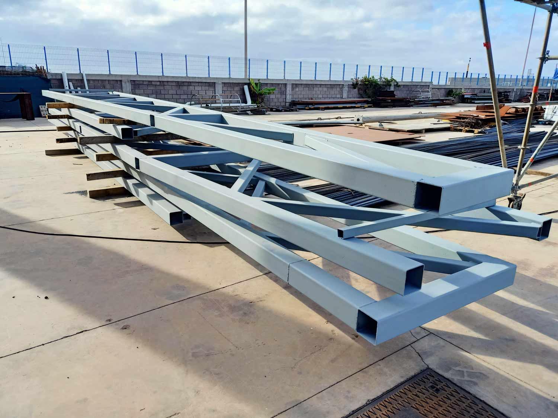 Estructuras Metálicas en el Sector Industrial -Tenerife